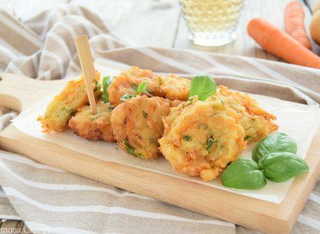 Frittelle di patate e carote velocissime
