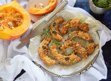 Zucca al forno impanata e croccante-deliziosa