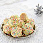 Dolcetti di Natale senza cottura-Funfetti Christmas truffles