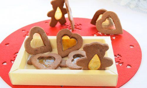 Biscotti di vetro di Natale
