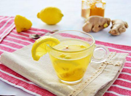 Tisana depurativa curcuma limone e zenzero