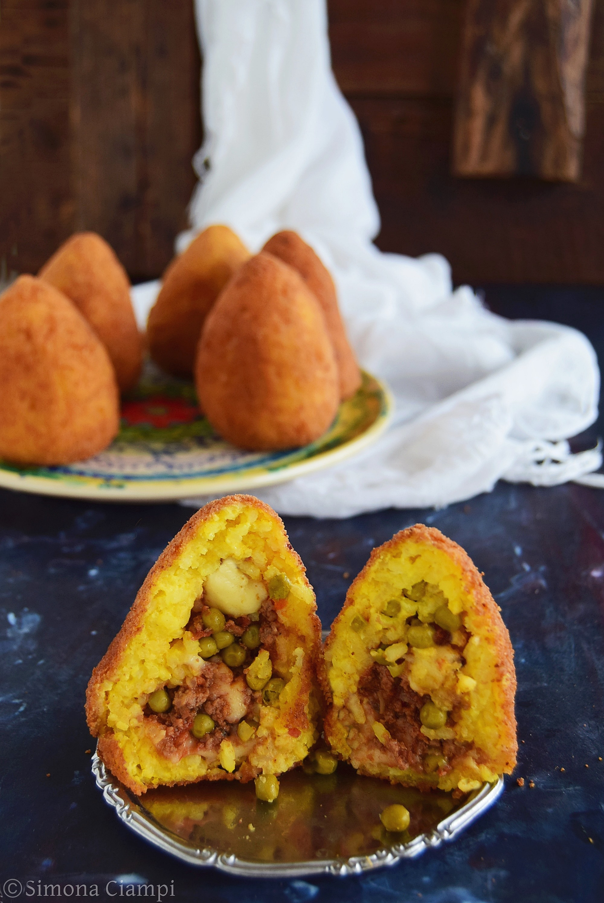 Arancine siciliane di riso-ricetta classica