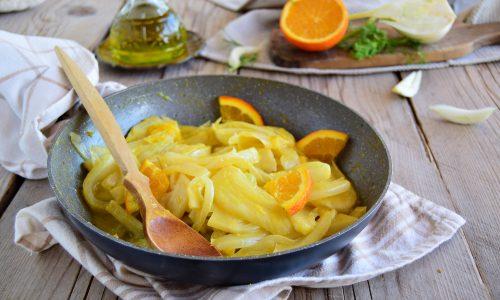 Finocchi all'arancia-contorno facile
