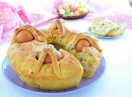 Casatiello napoletano-ricetta tradizionale di Pasqua
