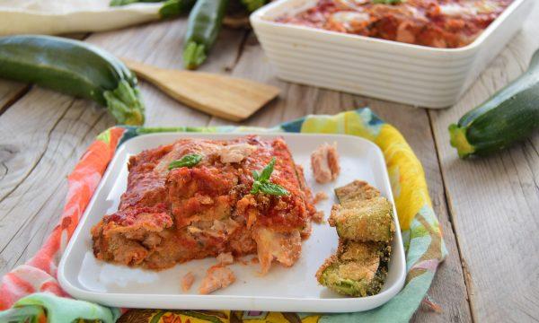 """Parmigiana di zucchine """"sabbiose"""" con tonno-una parmigiana diversa"""