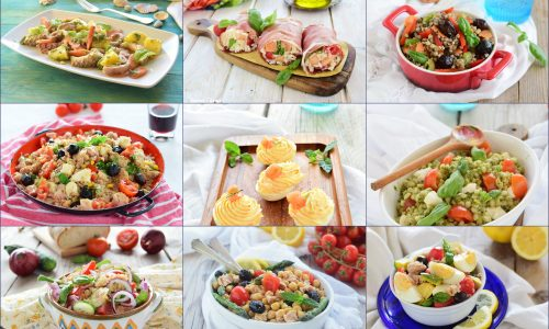 Piatti freddi estivi insalatone e non solo