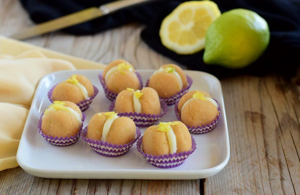 Baci di dama freddi al limone
