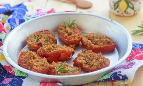 Pomodori gratinati alla marchigiana