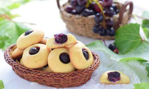 Biscotti all'uva facili e super golosi