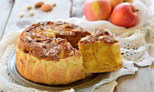 Torta russa di Verona con le mele