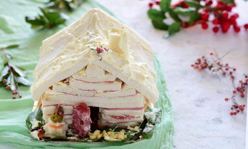 Casetta di Natale salata