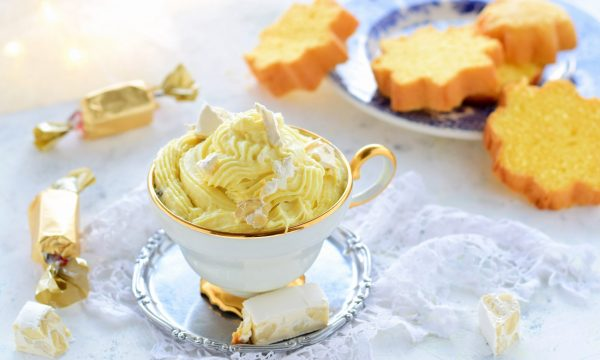 Crema al torrone e mascarpone-particolare e deliziosa
