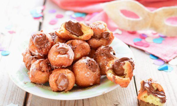 Tortelli di Carnevale dolci alla Nutella