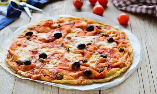 Pizzata di Recco-ricetta tipica senza lievito
