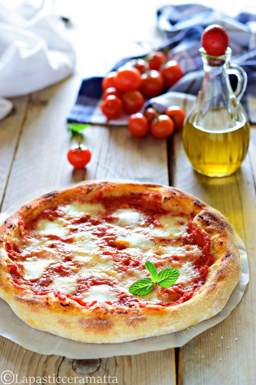 PIZZA CON PASTA DI RIPORTO ( al posto del lievito di birra)