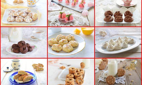 Raccolta di biscotti di tutti i tipi