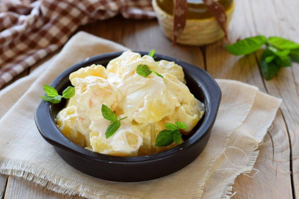 Ricetta insalata di patate e yogurt