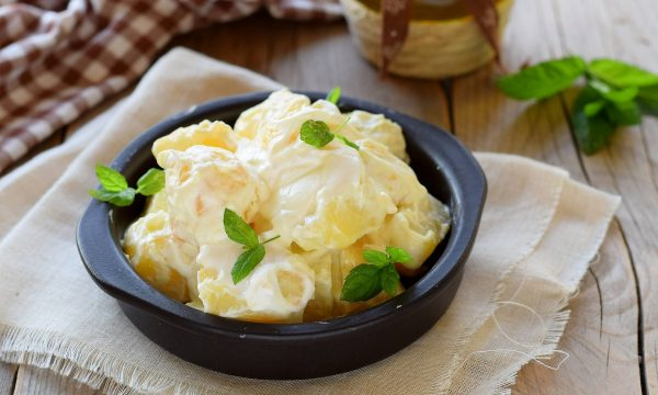 Ricetta insalata di patate e yogurt greco