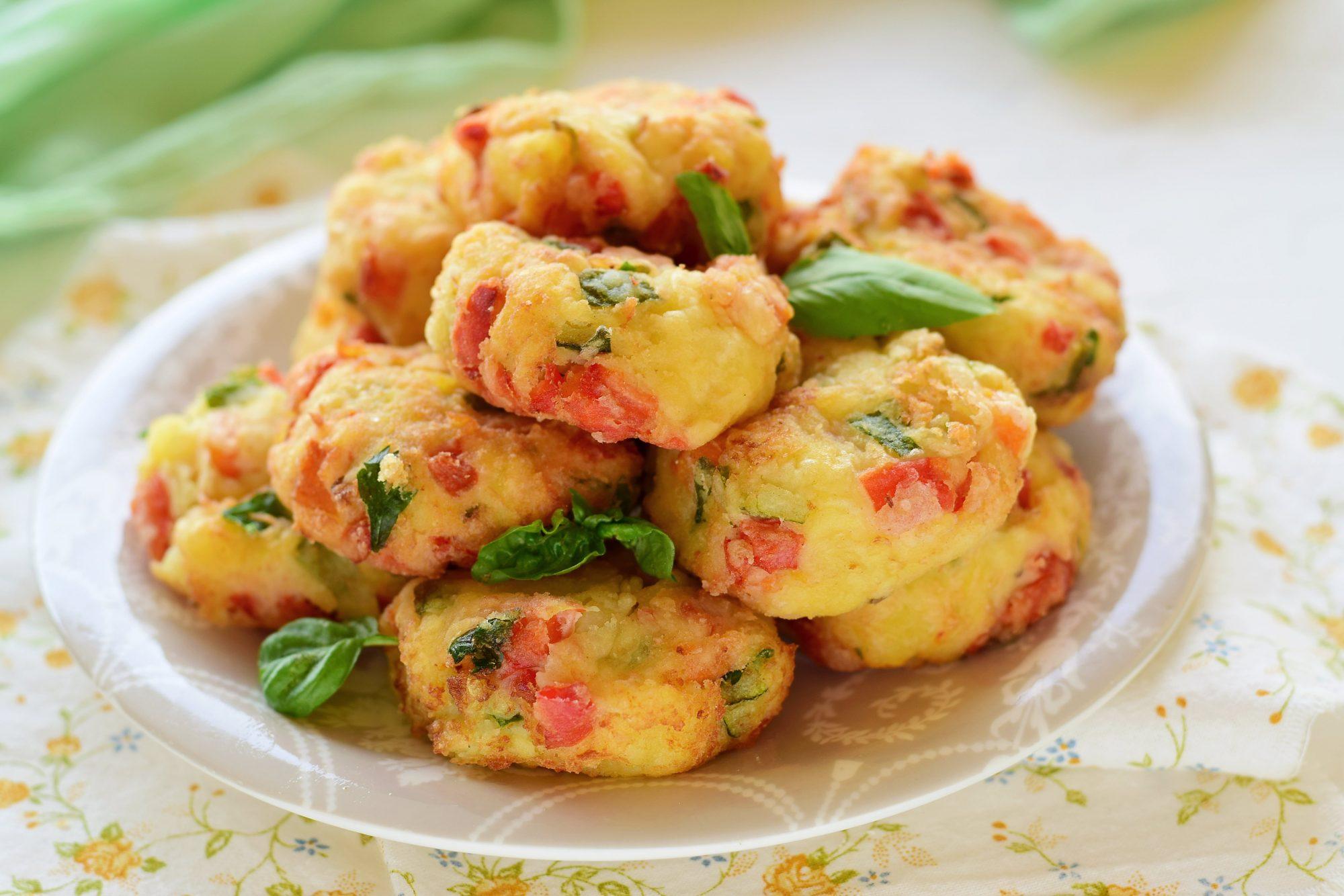 Polpette patate e verdure-si cuoce tutto insieme velocissime