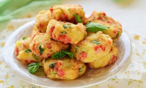 Polpette con patate e verdure-si cuoce tutto insieme velocissime