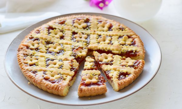 Crostata morbida senza burro alle fragole