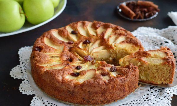 Torta di mele e cannella soffice profumata e deliziosa