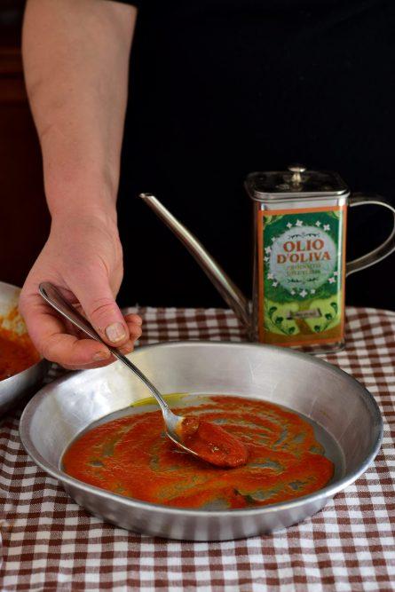 Zucca alla pizzaiola al forno-senza precottura