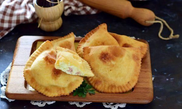CALCIONI MOLISANI ricetta antipasto senza lievito