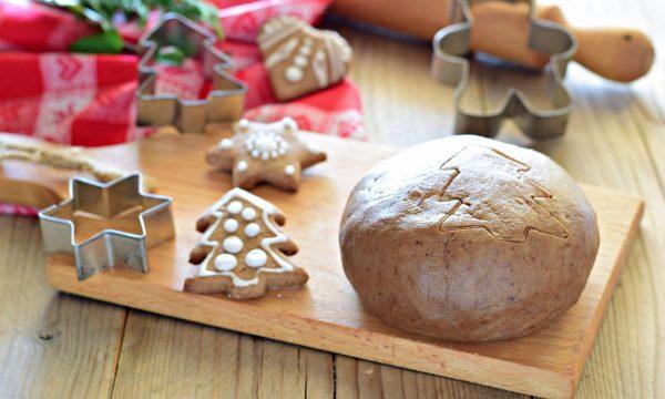 IMPASTO PAN DI ZENZERO per casetta e biscotti pepparkakor