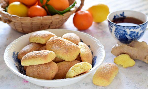 Biscotti agli agrumi e zenzero profumatissimi e inzupposi