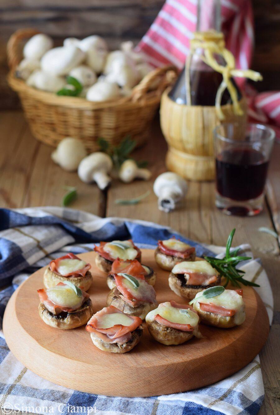 Champignon ripieni- antipasto pronto in soli 10 minuti