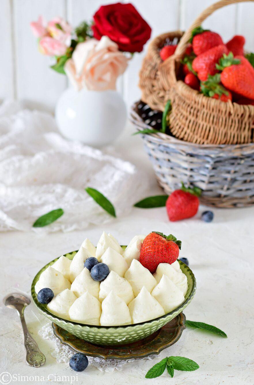 Camy cream ricetta senza cottura per farcire torte