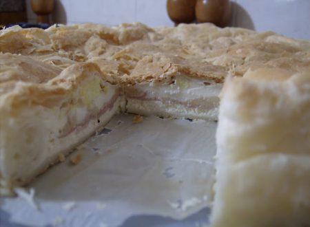 Parte seconda mio compleanno – Torta rustica con scamorza e prosciutto cotto
