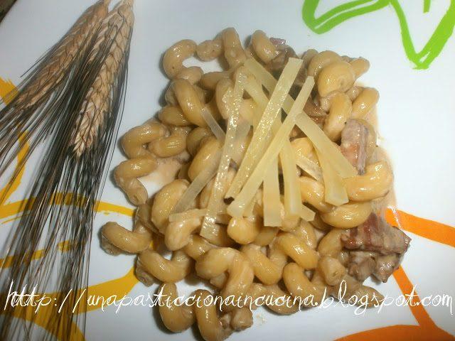 Celentani ai Funghi Porcini e Pancetta Affumicata