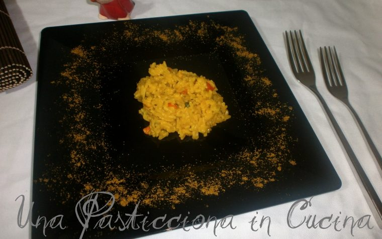 Vegetable Yellow Rice ( cucina indiana )