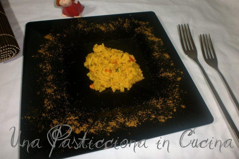 Vegetable Yellow Rice ( cucina indiana )