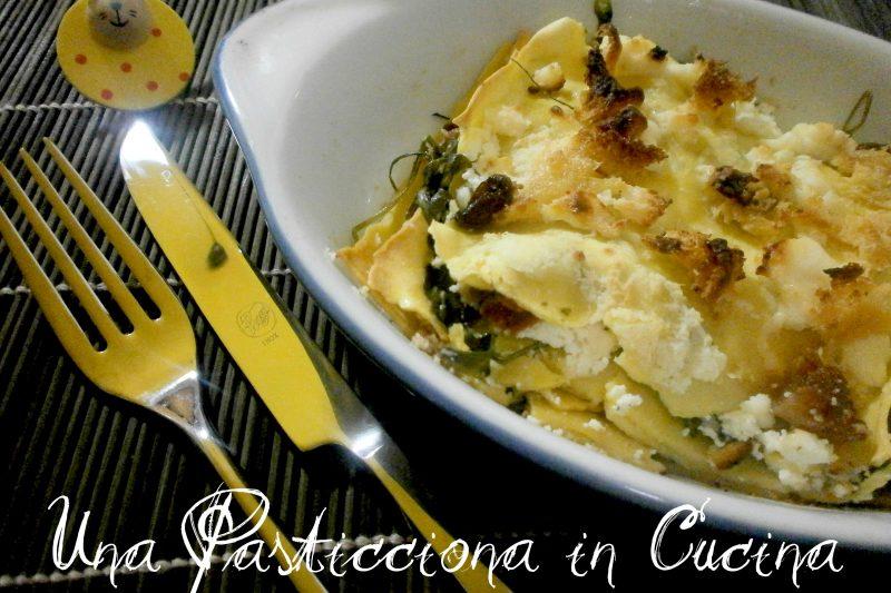 Lasagne Sfiziose con Crumble di Panettone