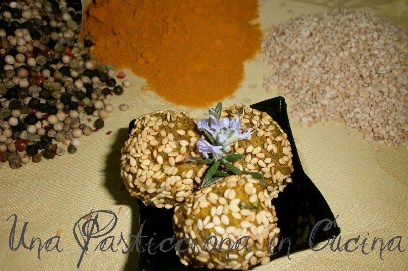Polpette Speziate di Bianchetti e Crema di Broccoletti