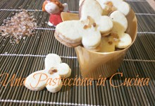 Biscotti per la festa della mamma a forma di farfalla
