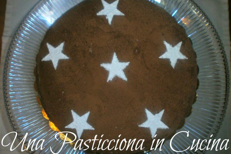 torta al caffè e gianduia