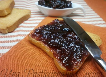 Marmellata di uva senza zucchero