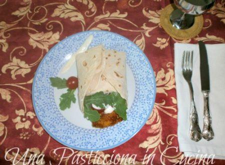 Piadina ripiena: carne e formaggio Ricetta