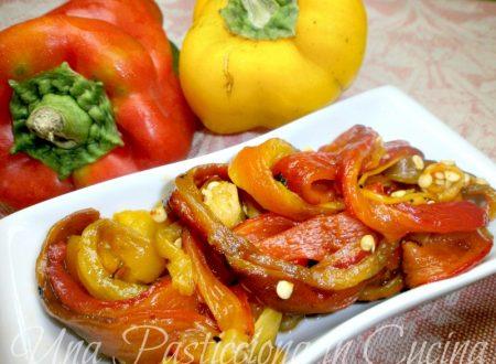 Peperoni arrostiti Ricetta