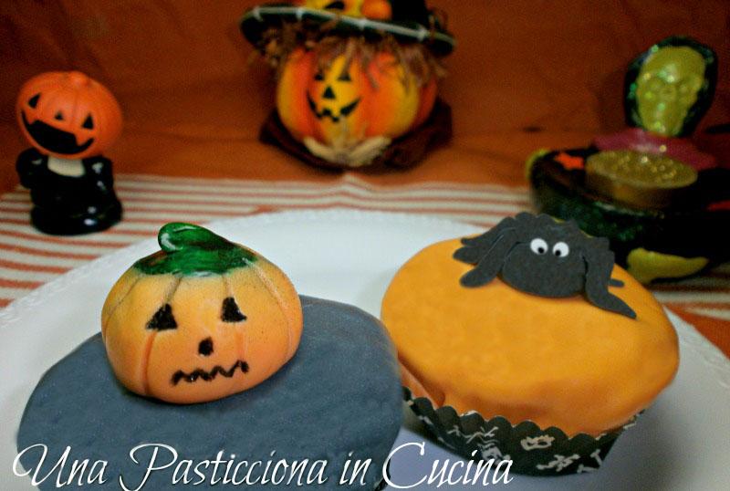 cupcakes allo yogurt halloween ricetta