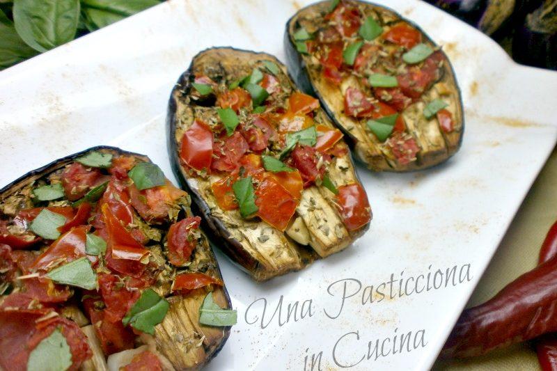 Melanzane e Pomodori al Forno Light Ricetta