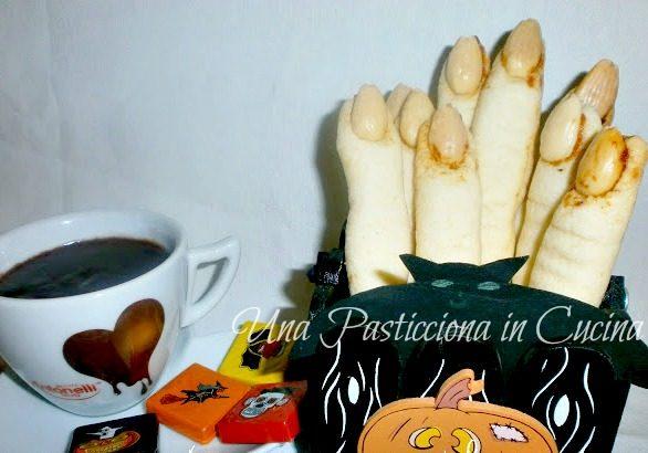 Dita di Strega Ricetta Halloween Dolci