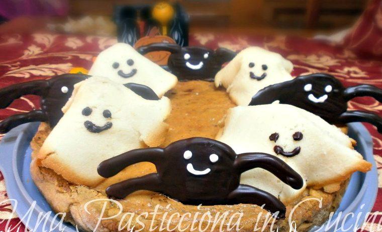 Ricette Halloween Crostata ragni-fantasmi