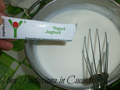 yogurt con fermenti