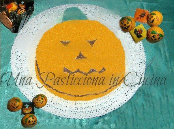 Torta forma zucca halloween Ricetta