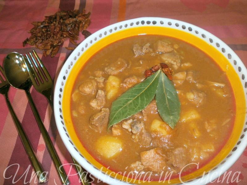 gulasch o gulash ricetta cucina ungherese una